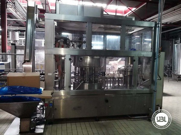 Used Complete Glass, PET Line for Dairy, Juice, Tea, Water 3000 bph - 1