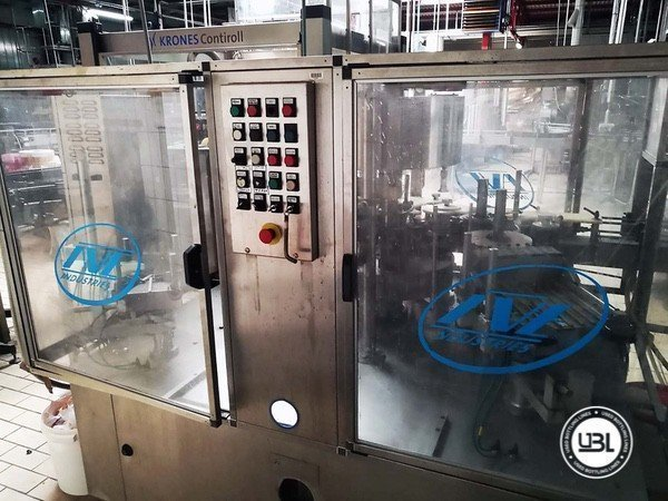 Used Complete Glass, PET Line for Dairy, Juice, Tea, Water 3000 bph - 11
