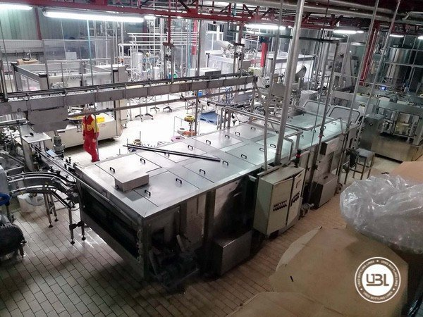 Used Complete Glass, PET Line for Dairy, Juice, Tea, Water 3000 bph - 14