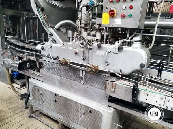 Used Complete Glass, PET Line for Dairy, Juice, Tea, Water 3000 bph - 5