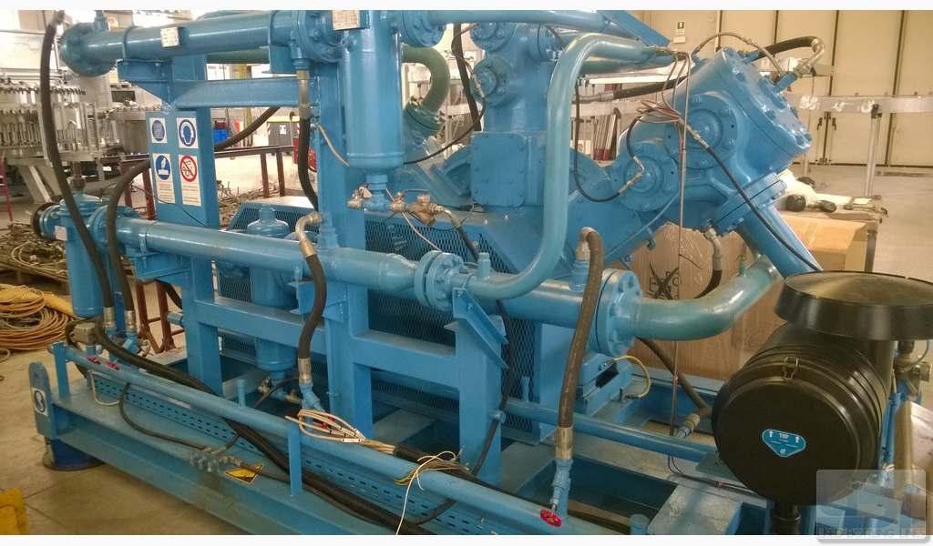 Used Compressor SIAD WS3/580-A3 - 1