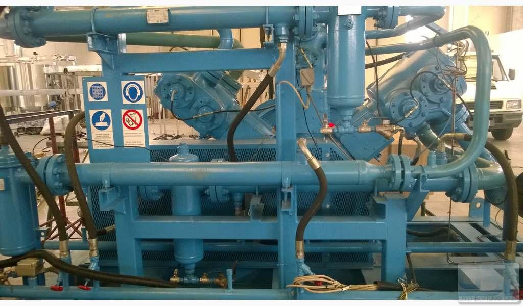 Used Compressor SIAD WS3/580-A3 - 2