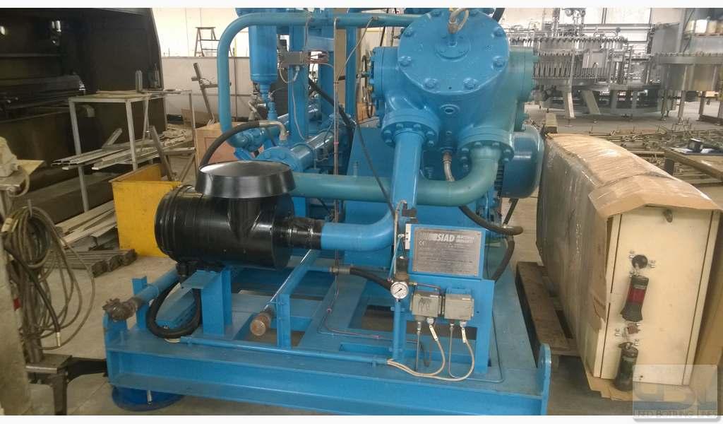 Used Compressor SIAD WS3/580-A3 - 3