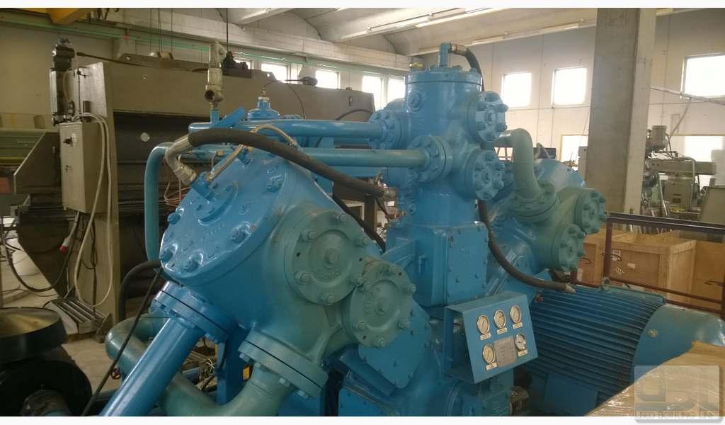 Used Compressor SIAD WS3/580-A3 - 4