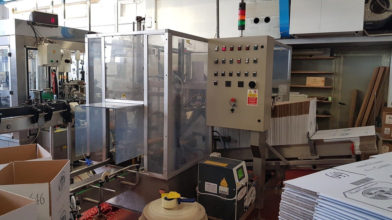 Used End of line Glass for Still Wine 6000 bph - 1