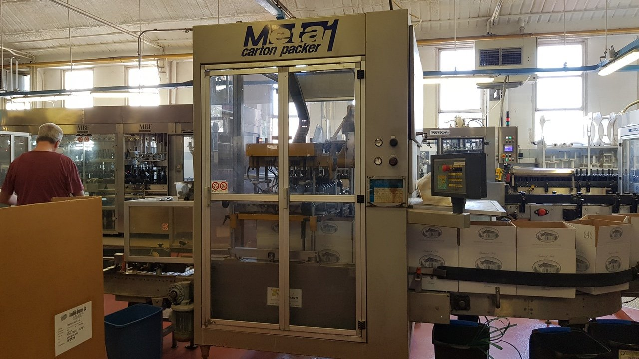Used End of line Glass for Still Wine 6000 bph - 13