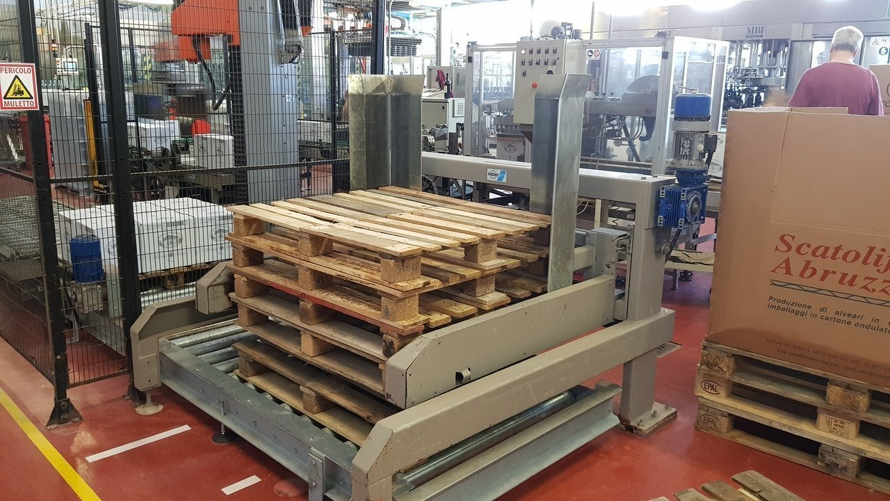 Used End of line Glass for Still Wine 6000 bph - 19