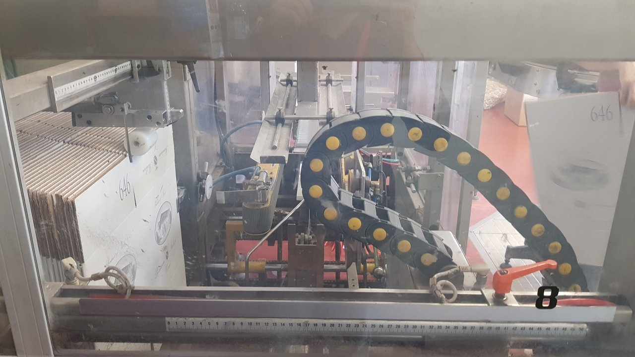 Used End of line Glass for Still Wine 6000 bph - 2