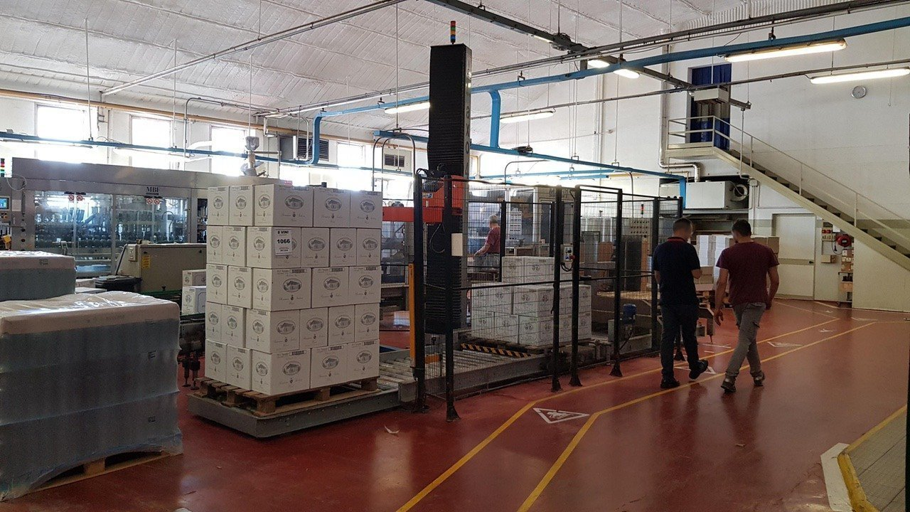Used End of line Glass for Still Wine 6000 bph - 20