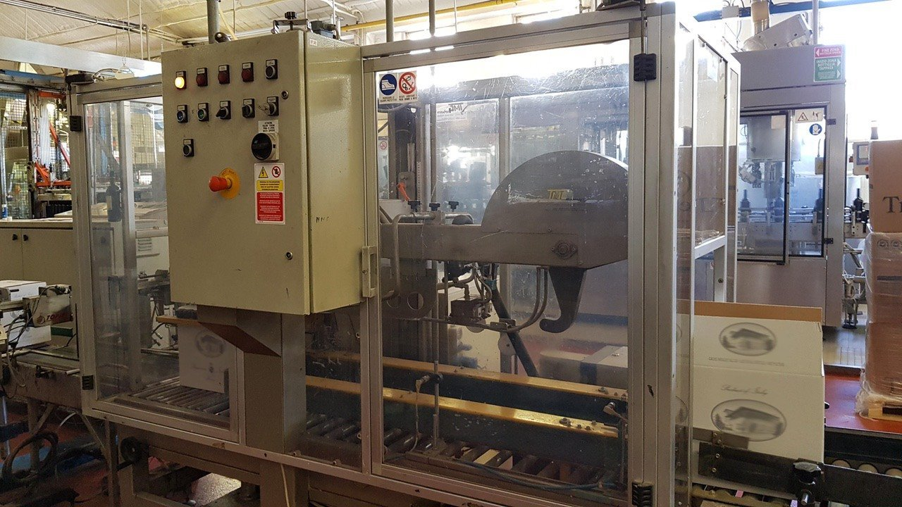 Used End of line Glass for Still Wine 6000 bph - 5