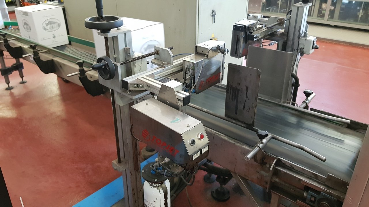 Used End of line Glass for Still Wine 6000 bph - 6