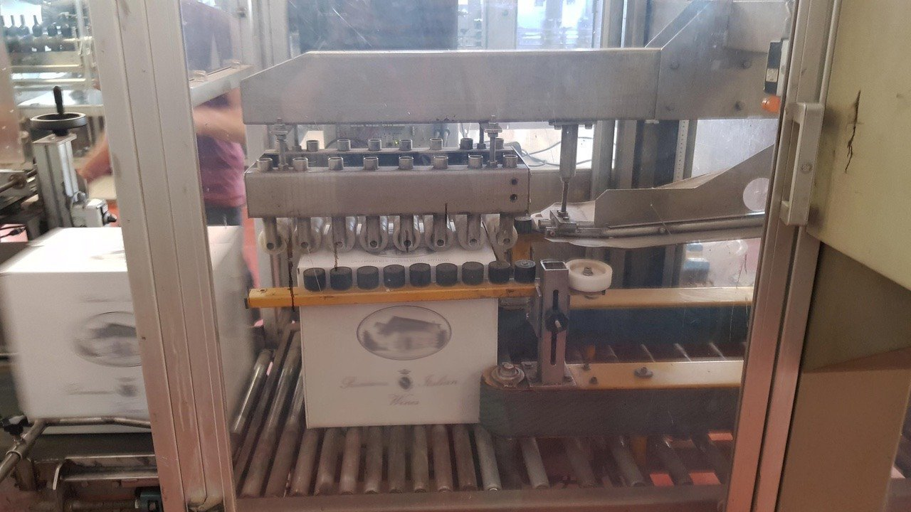 Used End of line Glass for Still Wine 6000 bph - 7