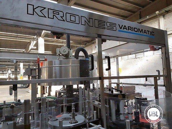 Used Bottle Labeler Krones VARIOMATIC 7000 bph - 6