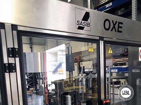 Used Bottle Labeler SASIB-OXE GALAXY FIX 960 F16 S3 E3+SL 16000 bph year 2000 - 6
