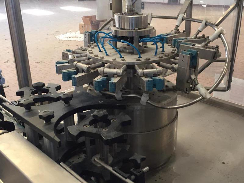 Used Complete Can, Glass Line for Oil 2200 bph - 12