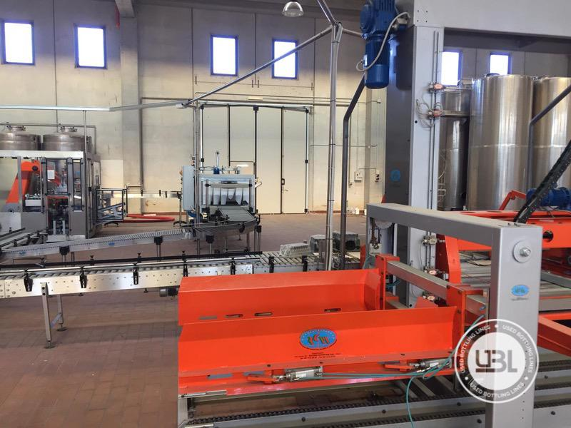 Used Complete Can, Glass Line for Oil 2200 bph - 18