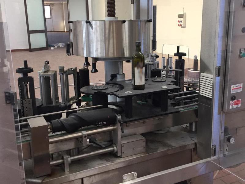 Used Complete Can, Glass Line for Oil 2200 bph - 25