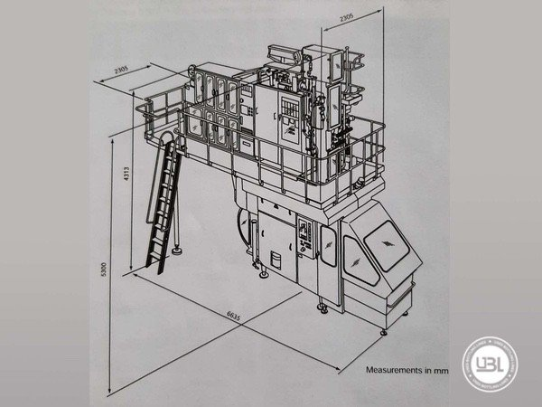 Used Filling Machine Tetra Pak® TBA8 100v - 18