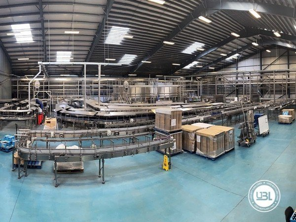 Used Isobaric Complete Glass Line for Beer 46000 bph - 1