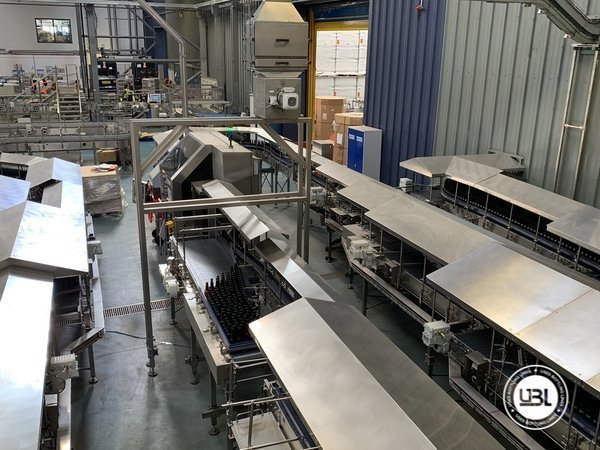 Used Isobaric Complete Glass Line for Beer 46000 bph - 14