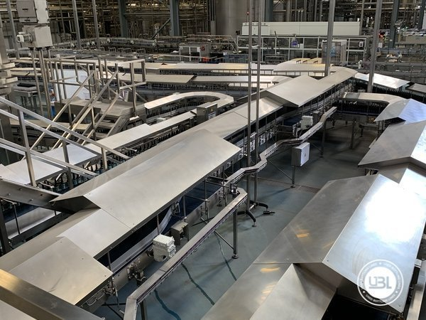 Used Isobaric Complete Glass Line for Beer 46000 bph - 15