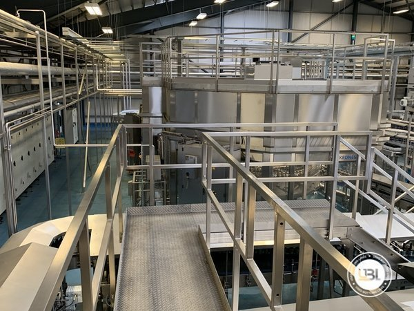 Used Isobaric Complete Glass Line for Beer 46000 bph - 16