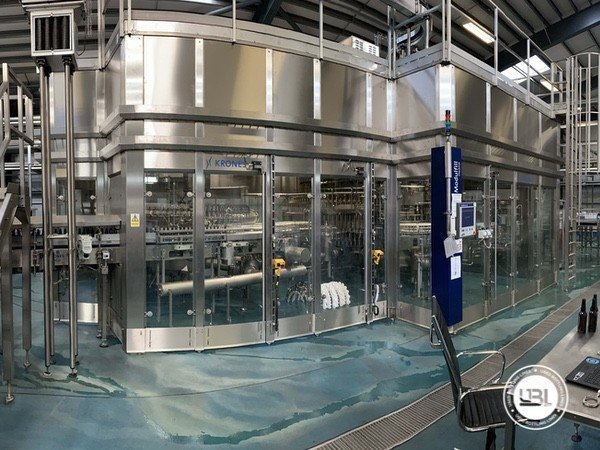 Used Isobaric Complete Glass Line for Beer 46000 bph - 17