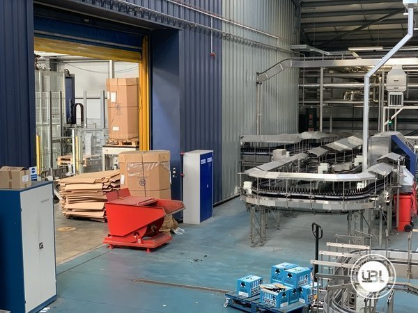 Used Isobaric Complete Glass Line for Beer 46000 bph - 2