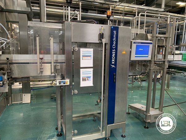 Used Isobaric Complete Glass Line for Beer 46000 bph - 21