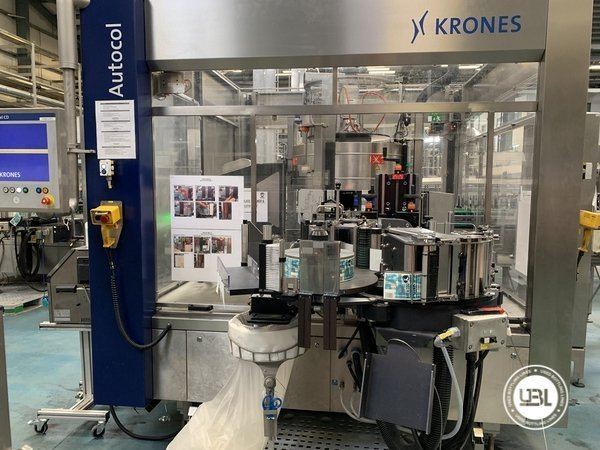 Used Isobaric Complete Glass Line for Beer 46000 bph - 22