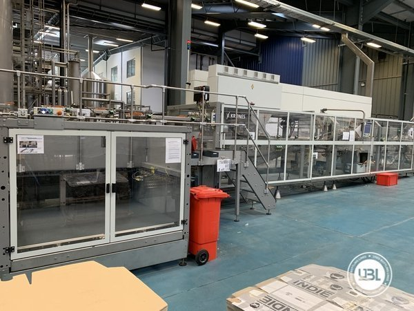 Used Isobaric Complete Glass Line for Beer 46000 bph - 24