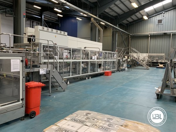 Used Isobaric Complete Glass Line for Beer 46000 bph - 25