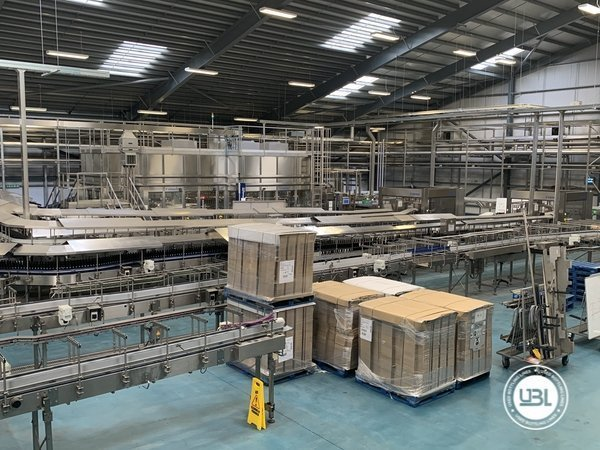 Used Isobaric Complete Glass Line for Beer 46000 bph - 3