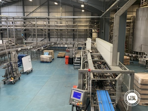 Used Isobaric Complete Glass Line for Beer 46000 bph - 4