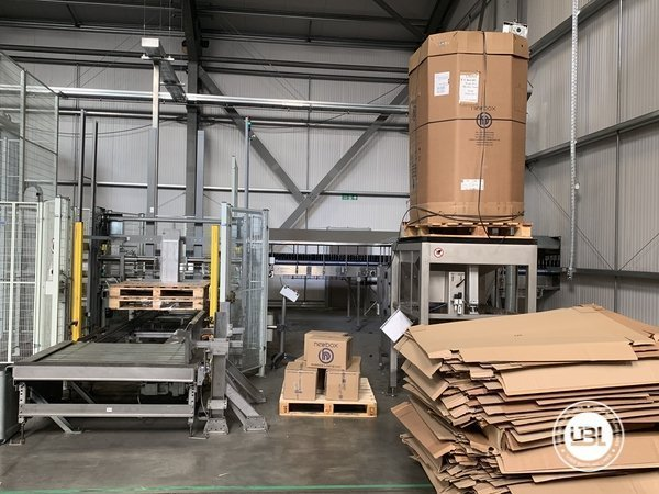 Used Isobaric Complete Glass Line for Beer 46000 bph - 6