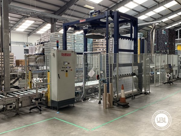 Used Isobaric Complete Glass Line for Beer 46000 bph - 8
