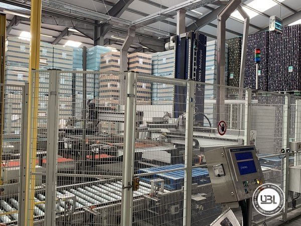 Used Isobaric Complete Glass Line for Beer 46000 bph - 9