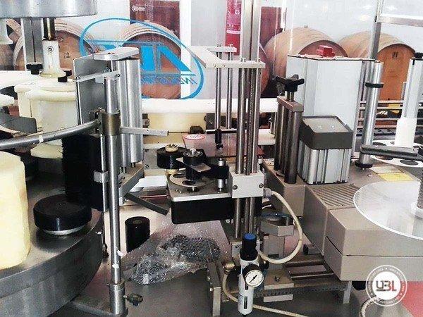 Used Bottle Labeler AVE ETI R 4T SA 2 2000 bph year 2000 - 6