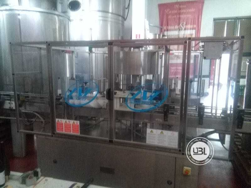 Used Isobaric Complete Glass Line for Sparkling Wine, Still Wine 2500 bph - 9