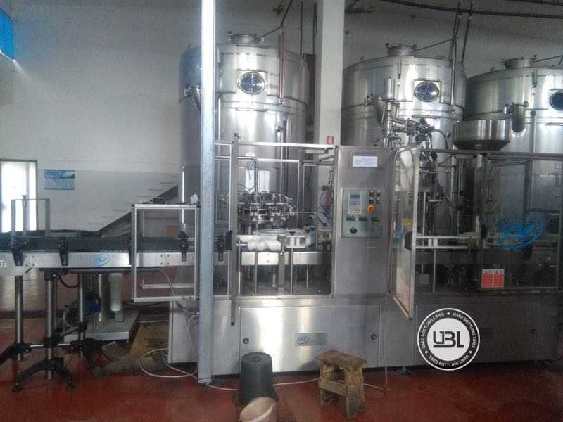 Used Isobaric Complete Glass Line for Sparkling Wine, Still Wine 2500 bph - 17