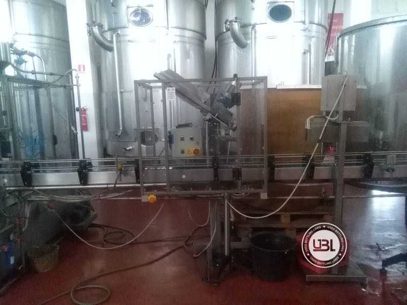 Used Isobaric Complete Glass Line for Sparkling Wine, Still Wine 2500 bph - 6