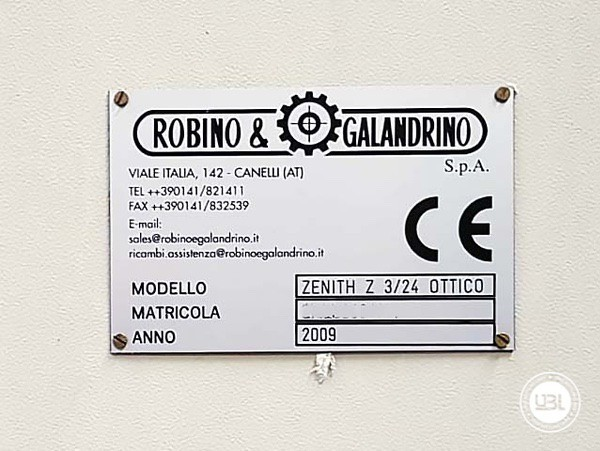 Used Capsuling Machine Robino & Galandrino ZENITH Z 3/24 OTTICO - 8