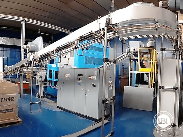 Used Complete PET Line for Water 13000 bph - 13