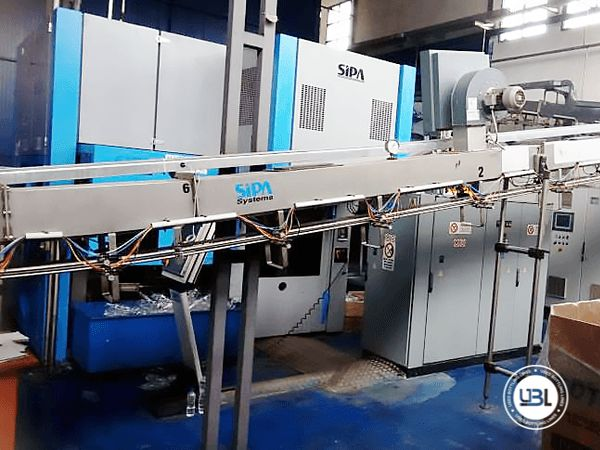 Used Complete PET Line for Water 13000 bph - 14