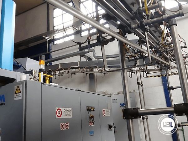 Used Complete PET Line for Water 13000 bph - 16