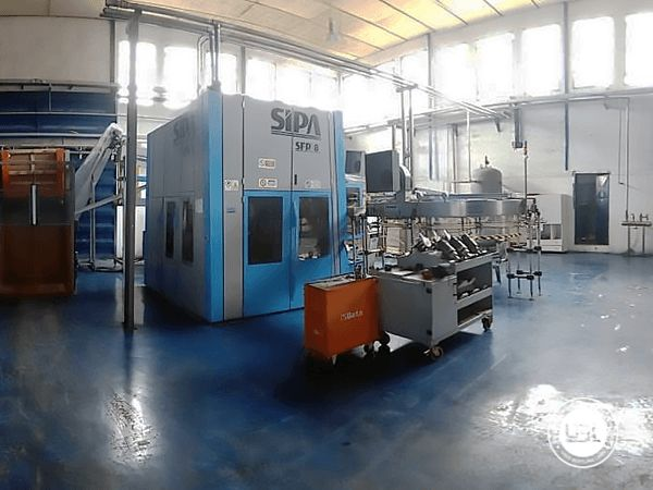 Used Complete PET Line for Water 13000 bph - 17