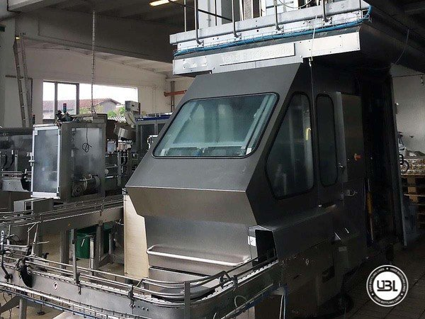 Used Complete Brik Line for Dairy 5000 bph - 2