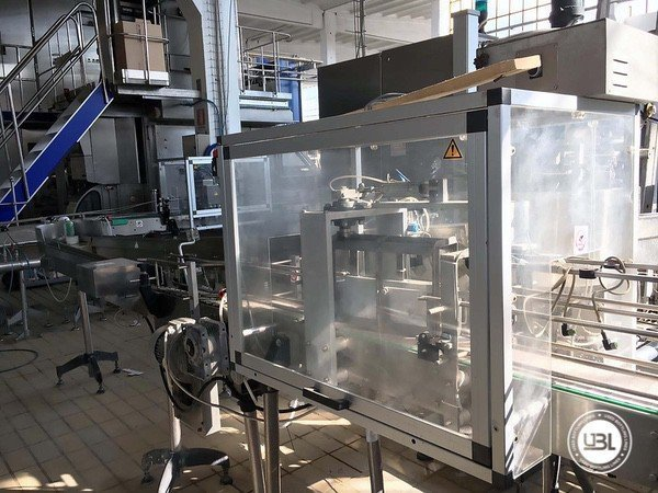 Used Complete Brik Line for Dairy 5000 bph - 3