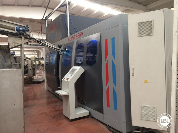 Used Blow Molding Machine Ersey BLW8C2-SRV - 3