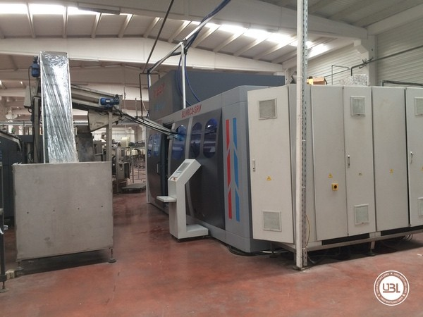 Used Blow Molding Machine Ersey BLW8C2-SRV - 4